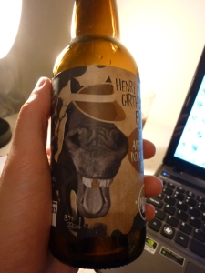 """""""Lets put a horse on the label!""""""""Um, why?""""""""No idea!  Also, it needs a hat!"""""""