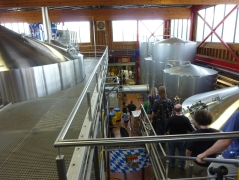 The brewhouse at Lagunitas.