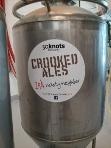 An old piece of %0 Knot's equipment recently spotted at another brewery.