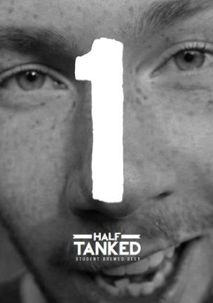 Yes, beer is made in tanks, that's a very clever pun. But could you have chosen slightly less punchable face to market it with?