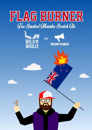 Flag Burner Poster
