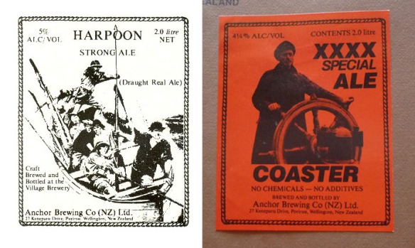 Some rather fabulous Anchor Beer labels I found in the depths of Google. Note the VERY early use of the term 'Craft'.